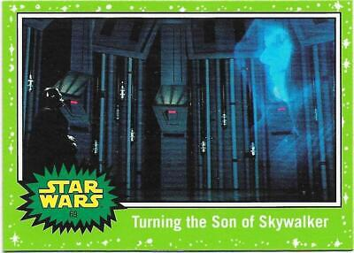 2019 Topps Star Wars Journey to The  Rise of Skywalker Green Starfield #69