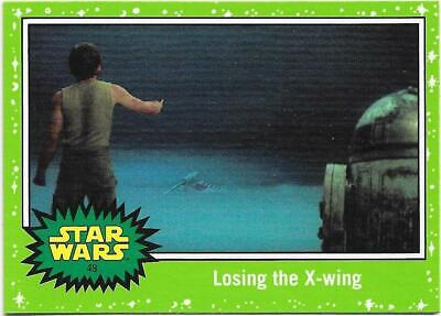 2019 Topps Star Wars Journey to The  Rise of Skywalker Green Starfield #49