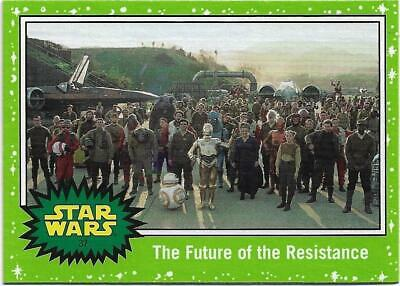 2019 Topps Star Wars Journey to The  Rise of Skywalker Green Starfield #37