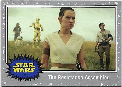 2019 Topps Star Wars Journey to The  Rise of Skywalker Silver Starfield #99