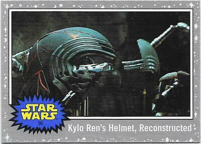 2019 Topps Star Wars Journey to The  Rise of Skywalker Silver Starfield #95