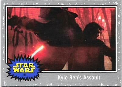 2019 Topps Star Wars Journey to The  Rise of Skywalker Silver Starfield #94