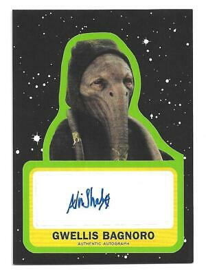 Topps Star Wars Journey to The  Rise of Skywalker Autograph Arti Shah as Gwellis