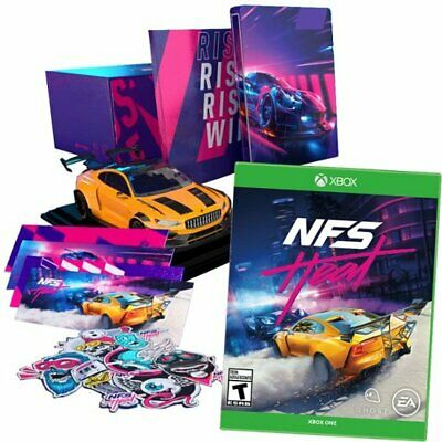 Need For Speed Heat Steelbook Collectors Edition Xbox One Game