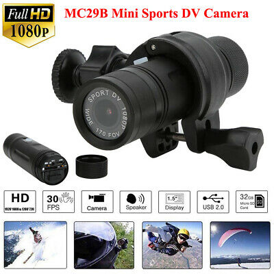 MC29B HD 1080P Bike Motorcycle Helmet Sport Action Camera Video DV DVR Camcorder
