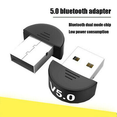 USB 5.0 Bluetooth Adapter Wireless Dongle High Speed for Laptop Windows Computer