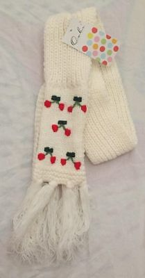 OOBI - Cherry Scarf - NEW