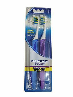 Oral-B Pro Expert Pulsar Vibrating Toothbrush Twin Pack
