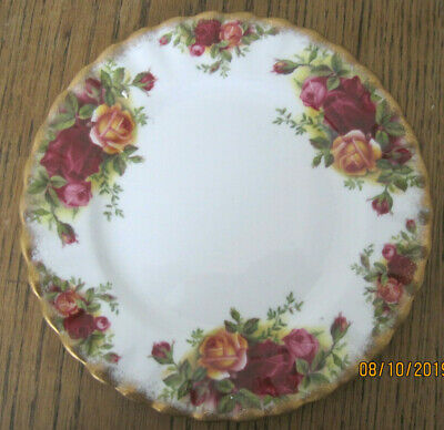 Royal Albert Old Country Roses Side Plate Floral Bone China Tableware Teaplate