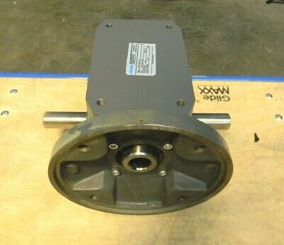 Morse Raider Right Angle Worm Gear Speed Reducer Left & Right Output 300Q180LR15