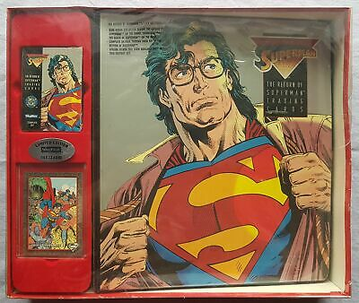 Return of Superman Factory Set 1993 Skybox Limited Edition