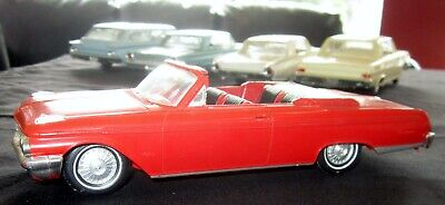 1962 Ford Galaxie Salesman Sample Convertible Red Muscle Car Rat Rod