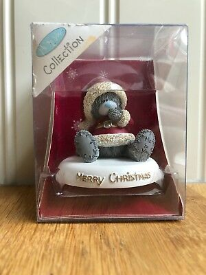 Me To You Tatty Teddy Figurine Ornament Merry Christmas