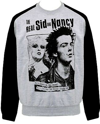Womens PUNK Hoodie Dress The Real SID VICIOUS /& NANCY Punk Rock Love 1977 S-XL