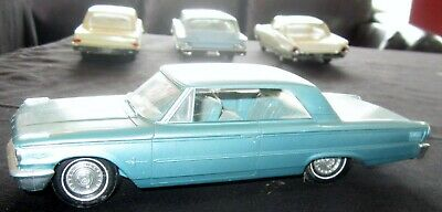 1963 Ford Galaxie 500XL Salesman Sample Convertible Turquoise Muscle Car Rat Rod