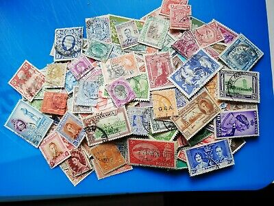 Stamps - Over 400 older  Commonwealth & British Empire stamps
