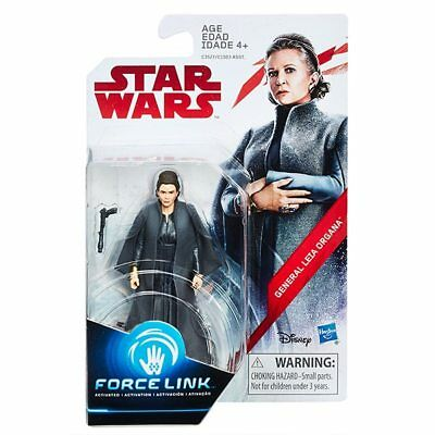 "General Leia Organa Star Wars : The Last Jedi Force Link ( 3.75"" ) Action Figure"
