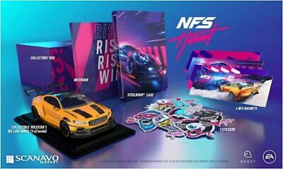 Need For Speed: Heat Collectors Edition PS4 playstation 4 - (no game)