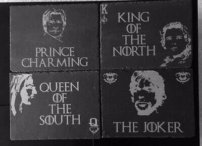 Game of Thrones Inspired Personalised Engraved Slate Placemats