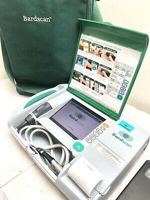 Bard Bardscan Ultrasound Bladder Scanner Urology Carrybag & New Gel