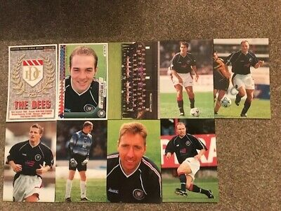 Panini Scottish Premier League Collection 98-99 Season 9x Dundee All Diff VGC