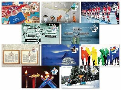 CANADA 150th = SEALED set of 10 OFDC = FDC = Olympic, Space, Hockey Canada 2017
