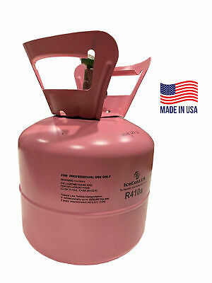 (2) R410a R-410a R 410a Refrigerant 7.5lb Tank New Factory Sealed (MADE IN USA)