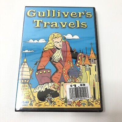 Gullivers Travels Animated DVD NEW Sealed