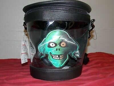 Disney Parks Loungefly Haunted Mansion 50th Anniversary Hatbox Ghost Purse Bag