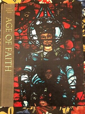 "Great Ages Of Man -- ""Age of Faith"" Time Life Book hard cover History"