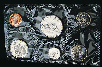 1968 Canada Prooflike PL set - 6 perfect coins in org packaging and certificate