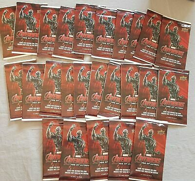 Marvel Avengers: Age of Ultron 100-Packs with 400 Cards Upper Deck 2015