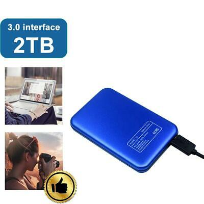 "External 2T USB 3.0 2.5"" Slim Portable Hard Drive for PC/Laptop GL"