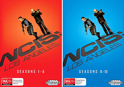 NCIS Los Angeles COMPLETE Series SEASON 1-10 NEW (60 Disc-Set) DVD