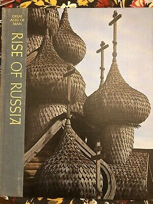 Vintage Time LIfe Books Great Ages of Man RISE OF RUSSIA Hardcover BOOK