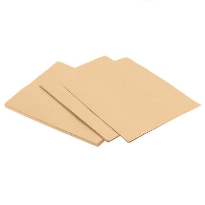 100x Retro Office Stationery Paper Writing Paper Kraft Letter Paper for School