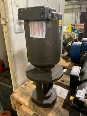 Gusher Coolant Pump, 9050-L, 1/4 HP, 230/460 V, Used, Warranty