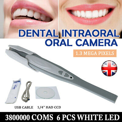 Dental Intraoral Intra Oral Camera clear Imaging System USB 6 LED w/ 50 sleeves