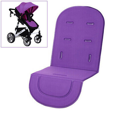 Baby Stroller Car Seat Padding Pushchair Pram Liner Pad Cushion Cover Purple