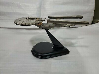 Star Trek ship Excelsior Pewter in original box