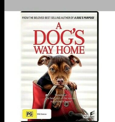 A DOG'S WAY HOME - 2019, DVD - Brand New Sealed - REGION 4