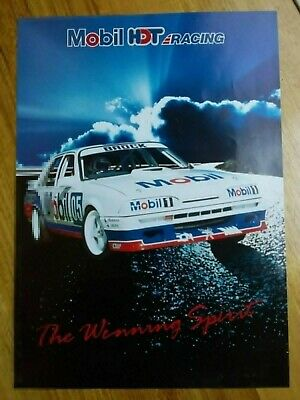 Rare original  Peter Brock  1987 HDT  VL  Commodore poster