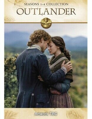 Outlander Complete Season series 1, 2, 3 & 4 DVD Box Set New Sealed