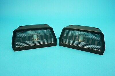 2 x Britax 867 Number Plate Lamp Light Ifor Williams Brian James Trailer - Large