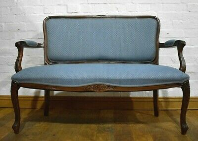 Antique style 2 seater sofa settee