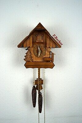 #5 Handmade Black Forest Cuckooclock - Chalet Style