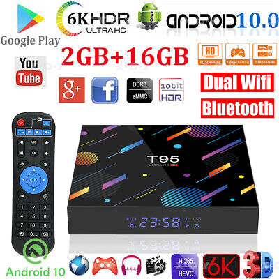 MX10 MINI Android 9.0 4K Ultra HD Quad Core TV BOX WIFI 3D 64Bit Media Player
