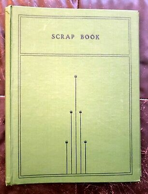 VINTAGE UNUSED  GREEN  SCRAP BOOK - Weis #105 - 10X14 - 140 pages