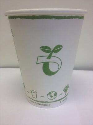 12oz Biodegradable Paper Cup Box of 1000 Cups