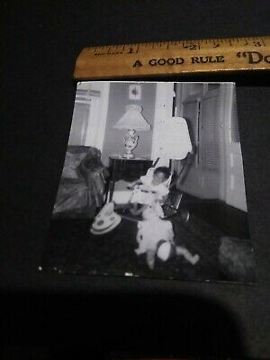 Segregation African American Photo from Corsicana Texas colored baby white doll